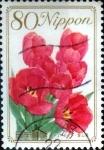 Stamps Japan -  Scott#3199 intercambio, 0,90 usd 80 y. 2010