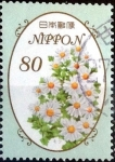 Stamps Japan -  Scott#3587 intercambio, 1,25 usd 80 y. 2013