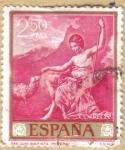 Stamps Spain -  Jose de Rivera 'EL ESPAÑOLETO' San Juan Bautista