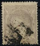 Stamps : Europe : Spain :  ESPAÑA_SCOTT 170 REGENCIA. $850
