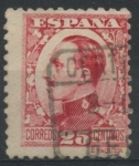 Stamps : Europe : Spain :  ESPAÑA_SCOTT 411.02 REY ALFONSO XIII. $0,2