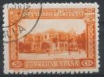Stamps Spain -  ESPAÑA_SCOTT 444 COLOMBIA PAVILION. $1,5