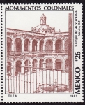 Stamps America - Mexico -  MONUMENTOS COLONIALES