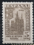 Sellos de Europa - España -  ESPAÑA_SCOTT 625 CATEDRAL DE BURGOS. $0,6