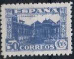 Stamps : Europe : Spain :  ESPAÑA_SCOTT 630 PATIO DE LOS LEONES EN LA ALHAMBRA. $14,0