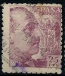 Sellos de Europa - España -  ESPAÑA_SCOTT 694 GENERAL FRANCISCO FRANCO. $0,2
