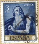 Sellos de Europa - España -  Jose de Rivera 'EL ESPAÑOLETO' San Onofre