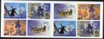 Stamps : Europe : Spain :  5037/5040.-Tradiciones y costumbres.Semana Santa de Tobarra, Cuenca Sevillay Lorca.