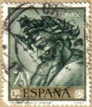 Stamps Spain -  Jose de Rivera 'EL ESPAÑOLETO' Triunfo de Baco