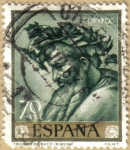 Sellos de Europa - España -  Jose de Rivera 'EL ESPAÑOLETO' Triunfo de Baco