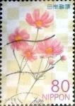 Stamps Japan -  Scott#3368 intercambio, 0,90 usd 80 y. 2011