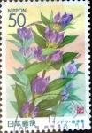 sellos de Asia - Japón -  Scott#Z346 intercambio, 0,50 usd 50 y. 1999