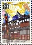 Sellos de Asia - Japón -  Scott#Z563 intercambio, 1,00 usd 80 y. 2002