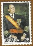 Sellos de Europa - España -  Juan Carlos de Borbon. Conde de Barcelona, Retrato
