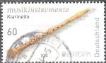 Sellos de Europa - Alemania -   Europa (C.E.P.T.) instrumentos musicales,clarinete.