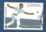 Stamps Spain -  Edifil 2850 X Campeonato del Mundo de Pelota 17