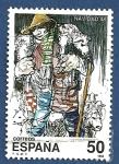 Stamps Spain -  Edifil 2977 Navidad 1988 50
