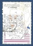 Stamps Spain -  Edifil 3013 Centenario Gabriela Mistral 50