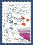 Sellos de Europa - España -  Edifil 3014 Charlie Chaplin 50