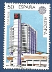 Sellos del Mundo : Europa : España : Edifil 3059 Edificio de Comunicaciones de Málaga 50