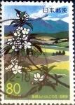sellos de Asia - Japón -  Scott#Z483 intercambio, 0,75 usd 80 y. 2001