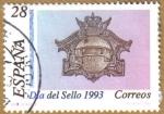 Stamps Spain -  Dia Mundial del sello - Boca de Buzon