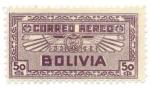 Sellos de America - Bolivia -  Emblema de la Aviacion boliviana