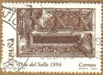 Sellos de Europa - España -  Dia Mundial del sello - Buzon de los letrados