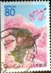 Stamps Japan -  Scott#Z394 intercambio, 0,75 usd 80 y. 2000