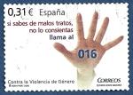 Stamps : Europe : Spain :  Edifil 4389 Contra la violencia de género 0,31