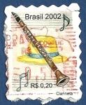 Stamps : America : Brazil :  BRASIL Clarineta 0,20