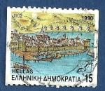 Stamps : Europe : Greece :  GRECIA Puerto 15