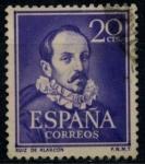 Sellos del Mundo : Europa : España : ESPAÑA_SCOTT 774 JUAN RUIZ DE ALARCON. $0,2