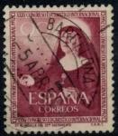 Sellos de Europa - España -  ESPAÑA_SCOTT 792 STA. Mª MICAELA. $0,2