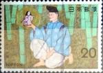 Sellos de Asia - Japón -  Scott#1175 intercambio, 0,20 usd 20 y. 1974