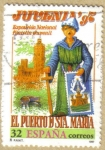 Stamps Spain -  JUVENIA 97 - Cartel