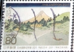 Stamps of the world : Japan :  Scott#3341e intercambio, 0,90 usd 80 y. 2011