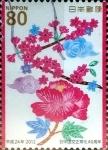 sellos de Asia - Japón -  Scott#3468 intercambio, 0,90 usd, 80 y. 2012