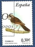 Stamps Spain -  Edifil 4303 Ruiseñor común 0,30