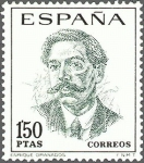 Stamps Spain -  ESPAÑA 1967 1831 Sello Nuevo Serie Centenario Celebridades Enrique Granados c/señal charnela