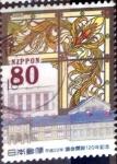 Stamps Japan -  Scott#3279 intercambio, 0,90 usd, 80 y. 2010