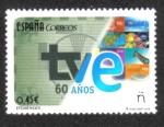 Stamps Spain -  60 Años de Televisión Española