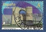 Stamps Spain -  Edifil 4763 Puerta del Alcázar Ávila A