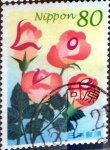 Stamps of the world : Japan :  Scott#2850a intercambio, 1,00 usd, 80 y. 2003