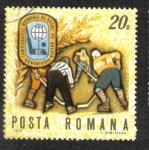 Sellos de Europa - Rumania -  Campeonato Mundial de Hockey sobre hielo