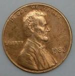 monedas de America - Estados Unidos -  1982 one cent