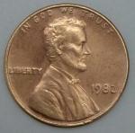 monedas de America - Estados Unidos -  1982 - 1 centavo