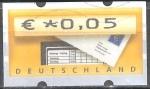 Sellos de Europa - Alemania -  ATM,buzón.