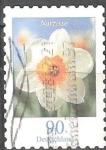 Sellos de Europa - Alemania -  Flores - Narciso.
