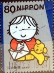 Stamps Japan -  Scott#2783d intercambio, nf2b 0,40 usd, 80 y. 2001